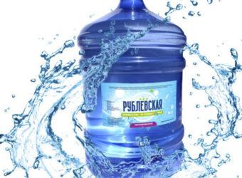 Вода питьевая первой категории «Рублевская» 19л.